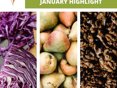 January Seasonal Produce