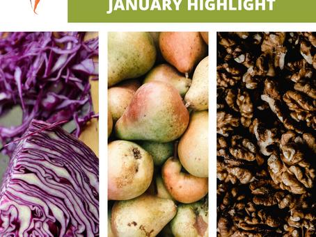 January Seasonal Produce