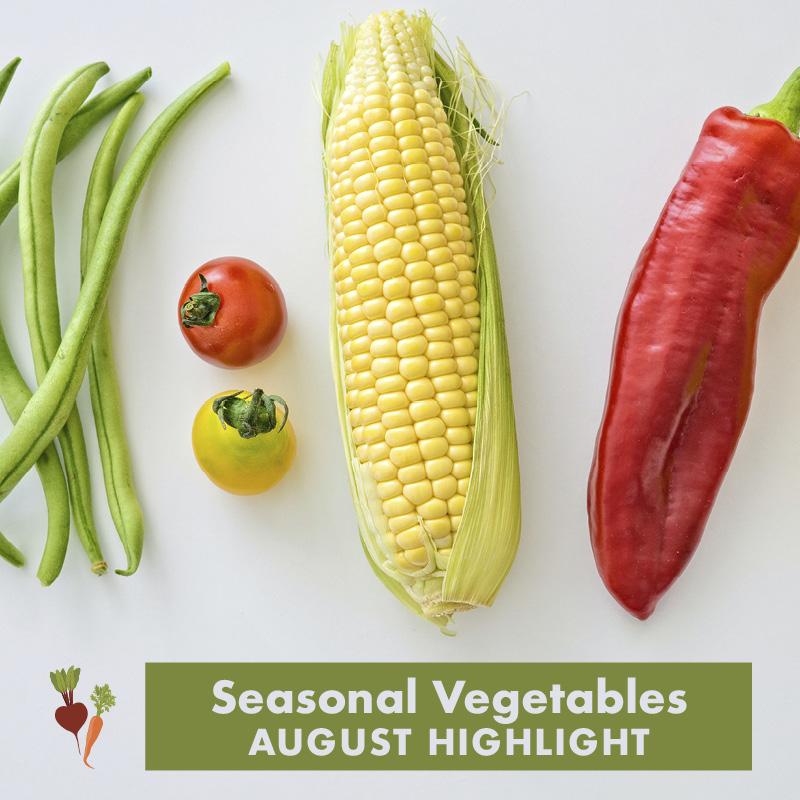 Seasonal Veg - August