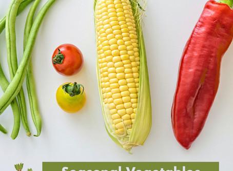 Summer Lovin' - Embracing August Seasonal Veggies