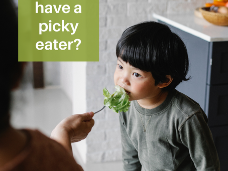 """Do you have a """"picky eater""""?"""