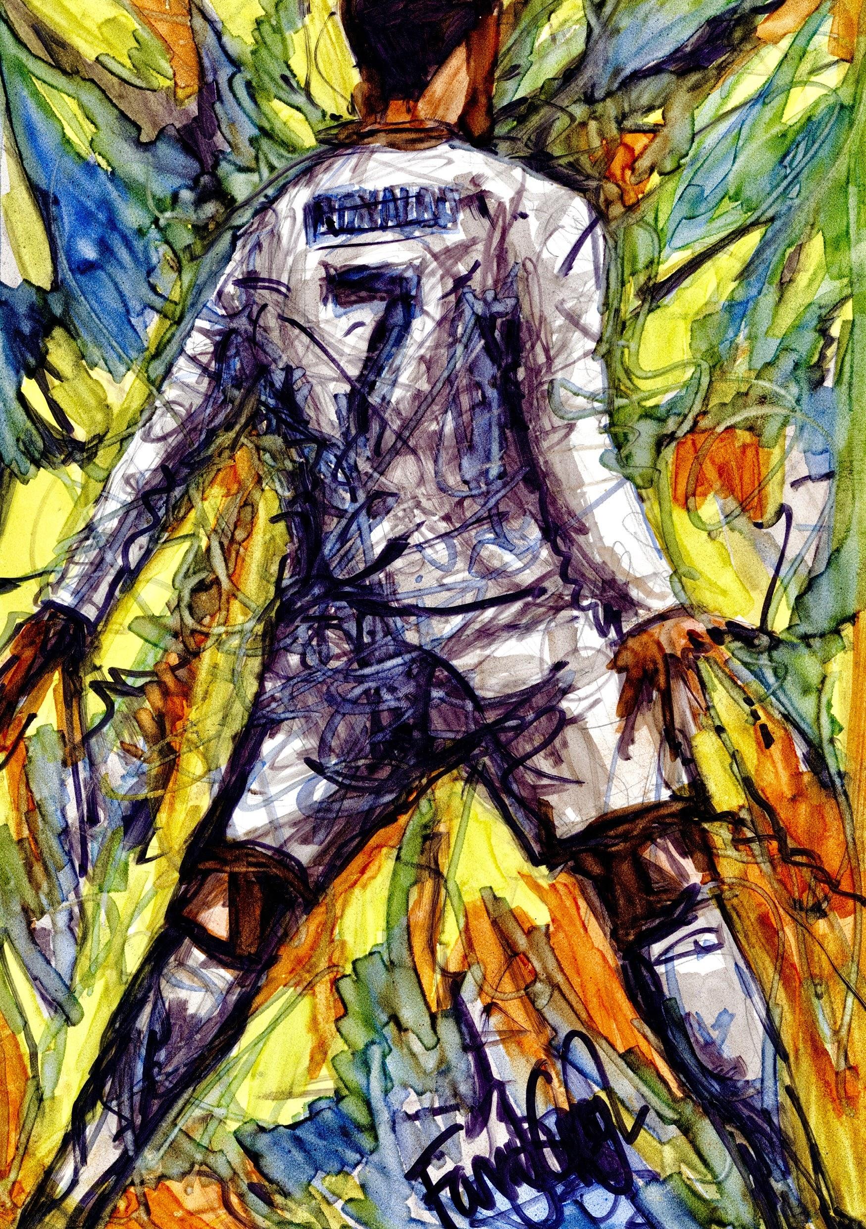 Ronaldo 'Mash Up Galactica'