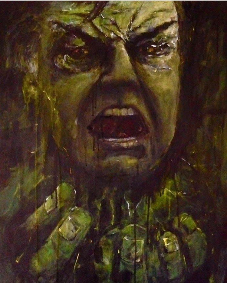 Big Sam as the Hulk 'Super Manager'