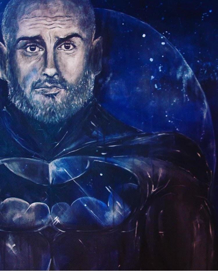 Guardiola as Batman 'Supermanager