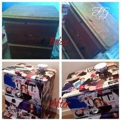 A lovingly stroke of Varnish and my ❤️FG❤️ #vintage #Vogue #Draws will be needing a new home