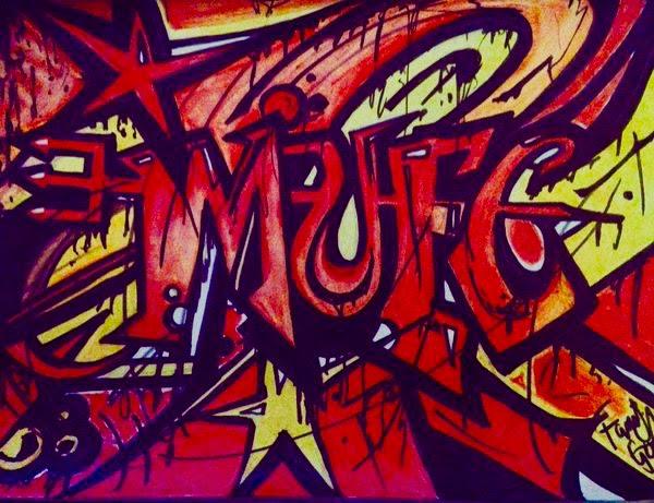 MUFC Graffiti