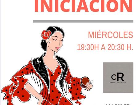 Clase gratuita de Flamenco Iniciación