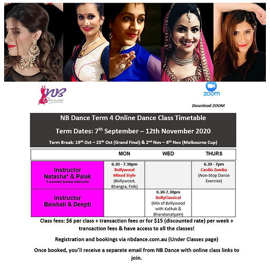 Professional Bollywood Dance Instructors