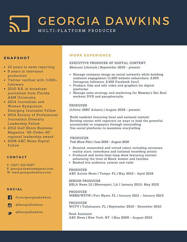 Entertainment Executive Free Resume Samples Web Producer SlideShare
