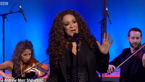 Rowetta and Manchester Camerata on Andrew Marr