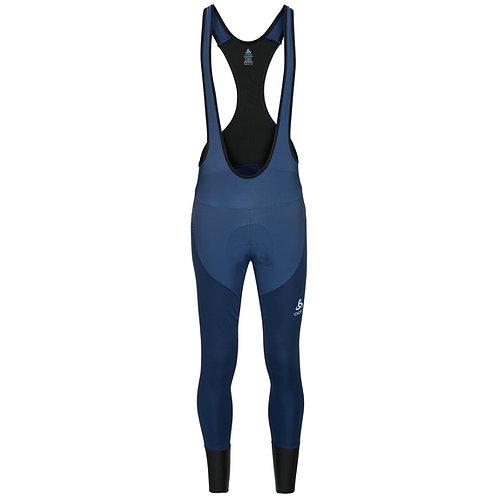 Men's ODLO Zeroweight X-Warm Pro Cycling Tights w/ Suspenders
