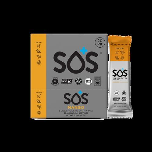 SOS Electrolyte Drink Powder - Mango