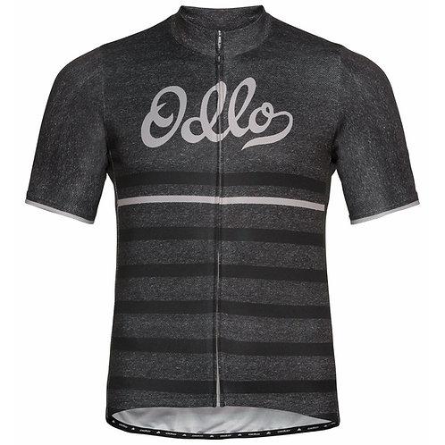 Men's Odlo Element Print Short-Sleeve Cycling Jersey
