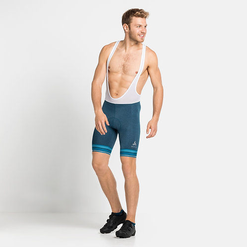 Men's ODLO Zeroweight Cycling Shorts with Suspenders