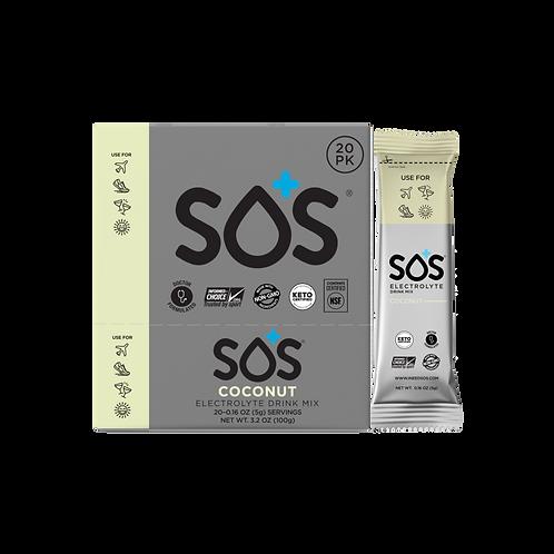 SOS Electrolyte Drink Powder - Coconut