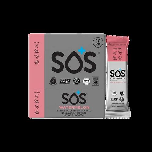 SOS Electrolyte Drink Powder - Watermelon