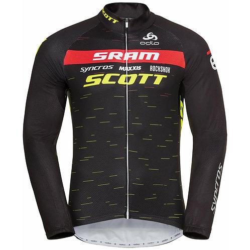 Men's ODLO Scott-Sram Racing Fan Long Sleeve Shirt