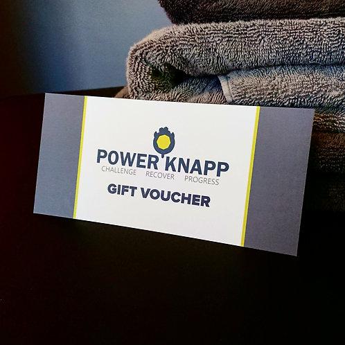 The PowerKnapp Gift Card