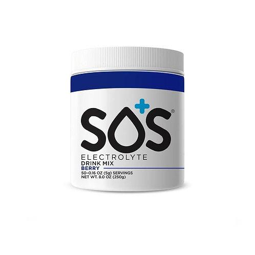 SOS Electrolyte Drink Powder - Berry