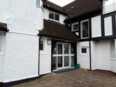 The gables care home facade painting 2.j