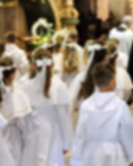 Children at First Communion