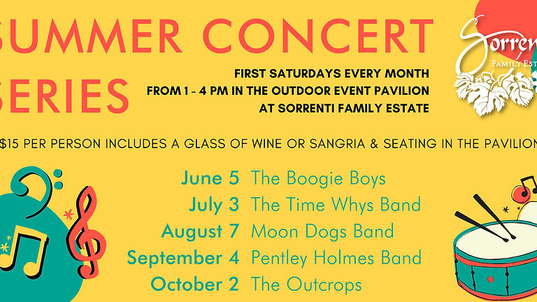 Summer Concert Series   June 5th