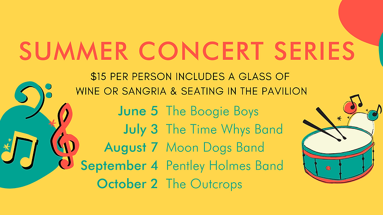 Summer Concert Series   August 7th