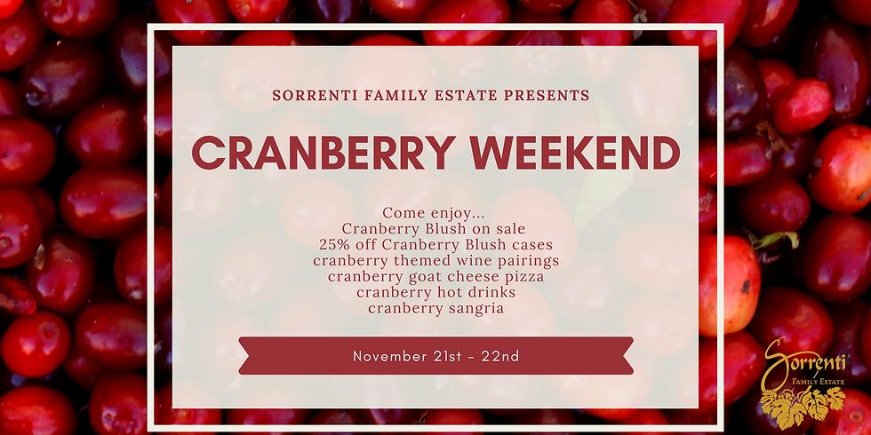 Cranberry Weekend