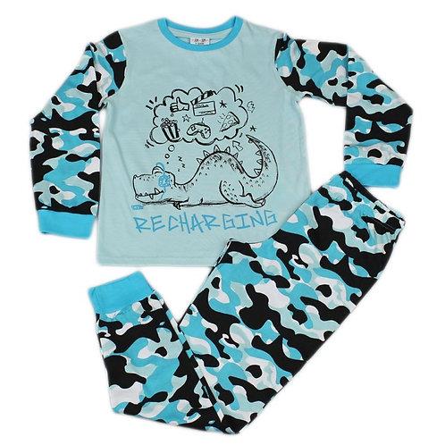 Dino Recharging Pajama Set