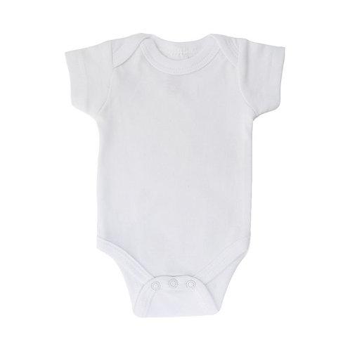 Premature White Short Sleeve Bodysuit