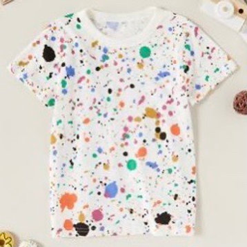 Paint Splatter T Shirt