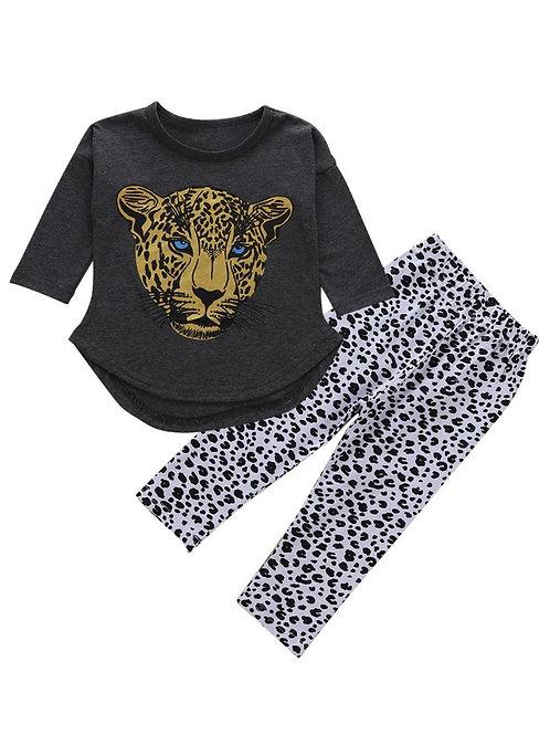Golden Leopard Set
