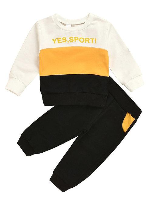 Black & Yellow 'Sports!' Set