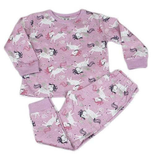 Unicorn Print Pajama Set