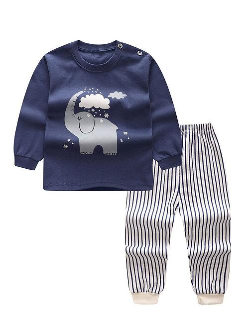 Elephant & Stripes Set (9-24M)