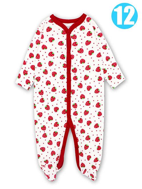 Strawberry Sleeper (0-12M)