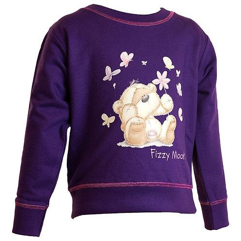 Fizzy Moon Purple Sweat Top