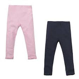 2 Pack Leggings - Pink & Navy