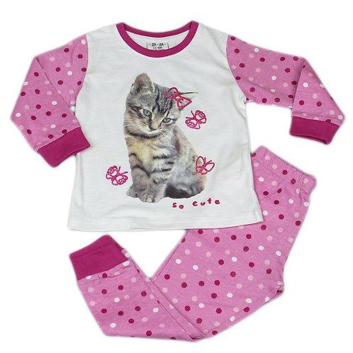 'Cute Kitty' Pajama Set