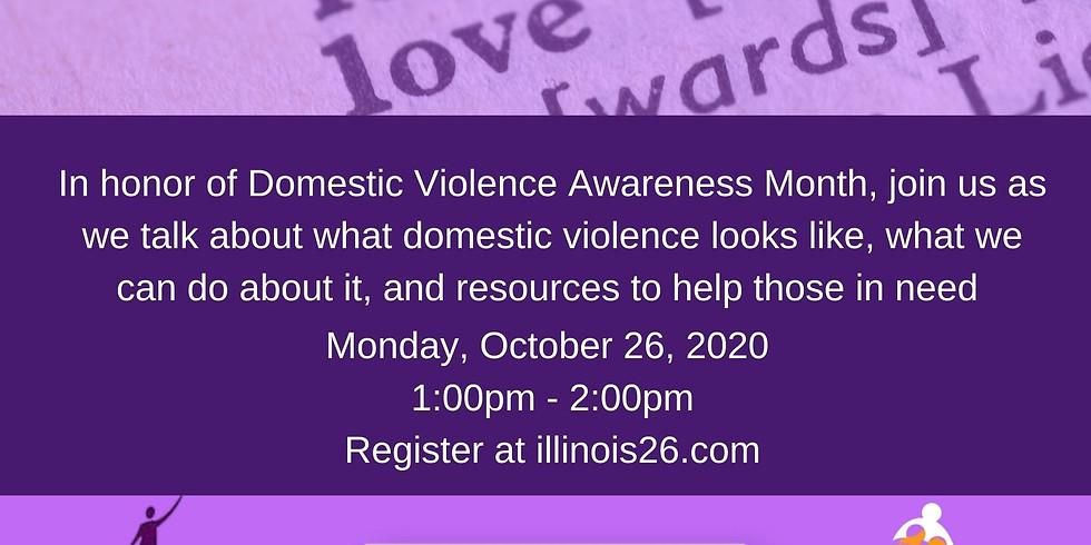 Love Shouldn't Hurt: A Domestic Violence Town Hall