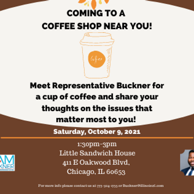 Coffee Shop Talk-  Bronzeville