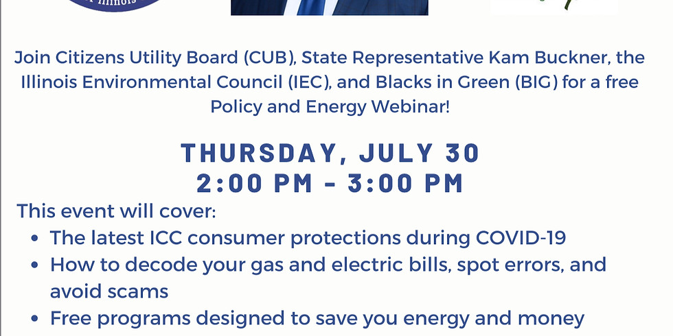 Policy and Energy Webinar