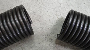 Broken Garage Door spring or other parts