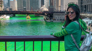 Mi primer St Patrick's Day En Chicago