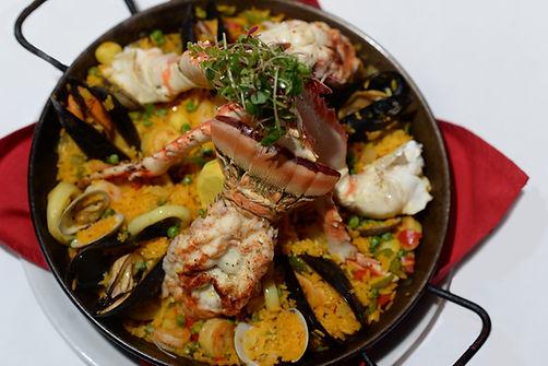 SEAFOOD - PAELLA - lobster