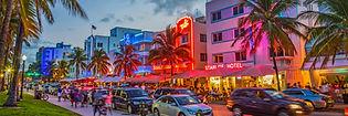 Miami, beach, boulevard, hotel