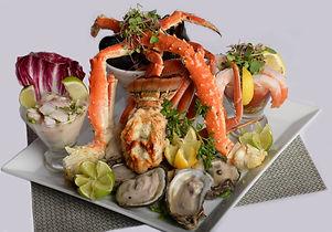 SEAFOOD-RAW BAR- lobster