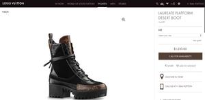 66008a0dcb5 Louis Vuitton Laureate Platform Desert Boots Reviewed