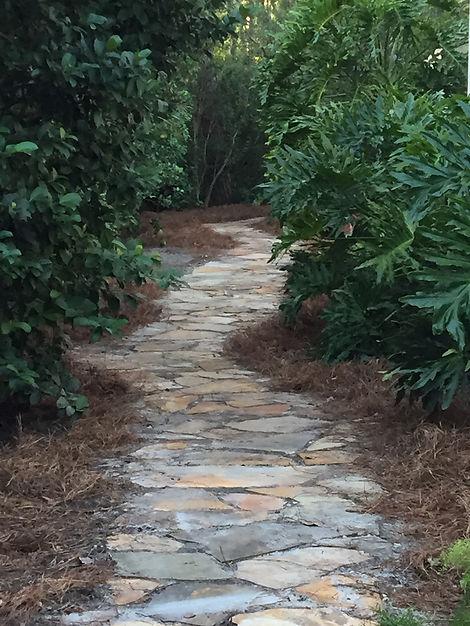Natural rock path.JPG