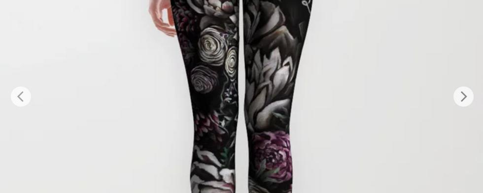 Florals Galore Leggings